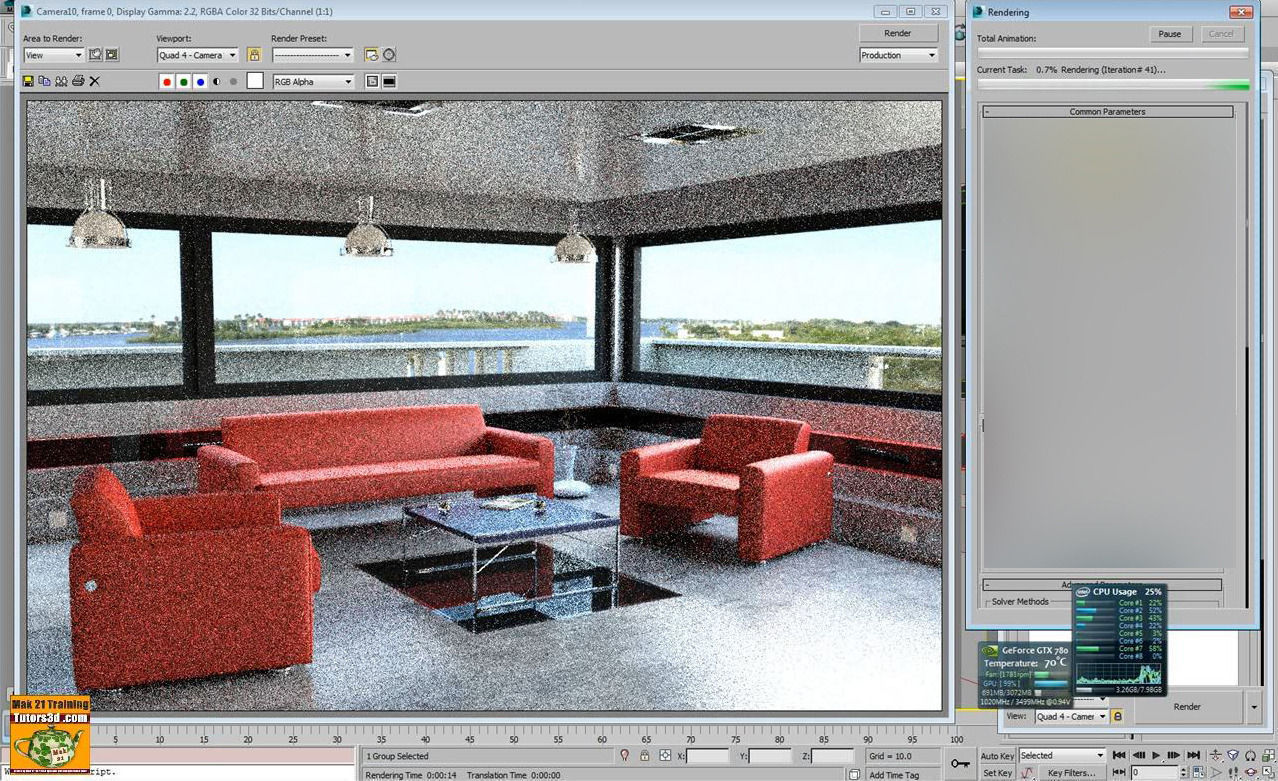 3ds max 2015 iray interior design volume 4 3d model for 3ds max design