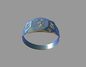 3D print model A ring that attracts wealth