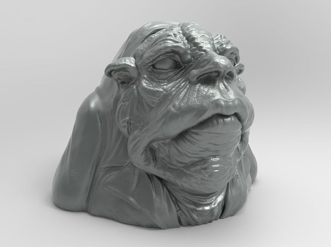Butler monster 3d model 3d printable stl for Monster 3d model