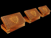 Indian wood box 3D Model