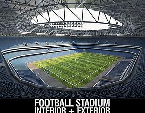 Stadium Luzhniki 3D model