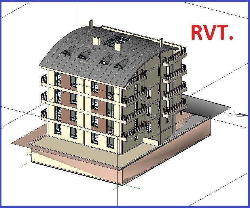 House Design Apartment Detail Revit Model Home Cgtrader