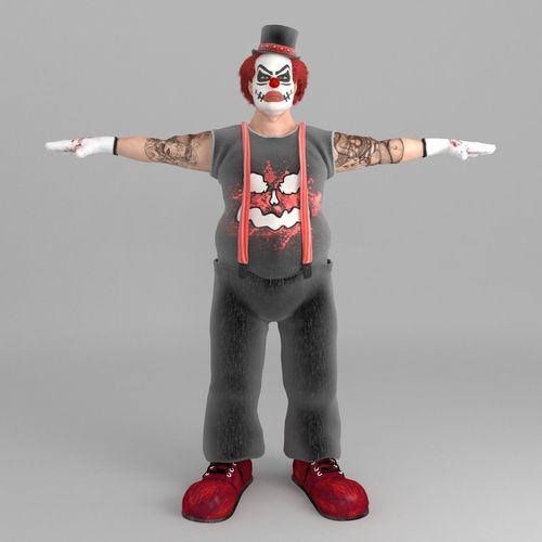 Robby The Scary Clown3D model