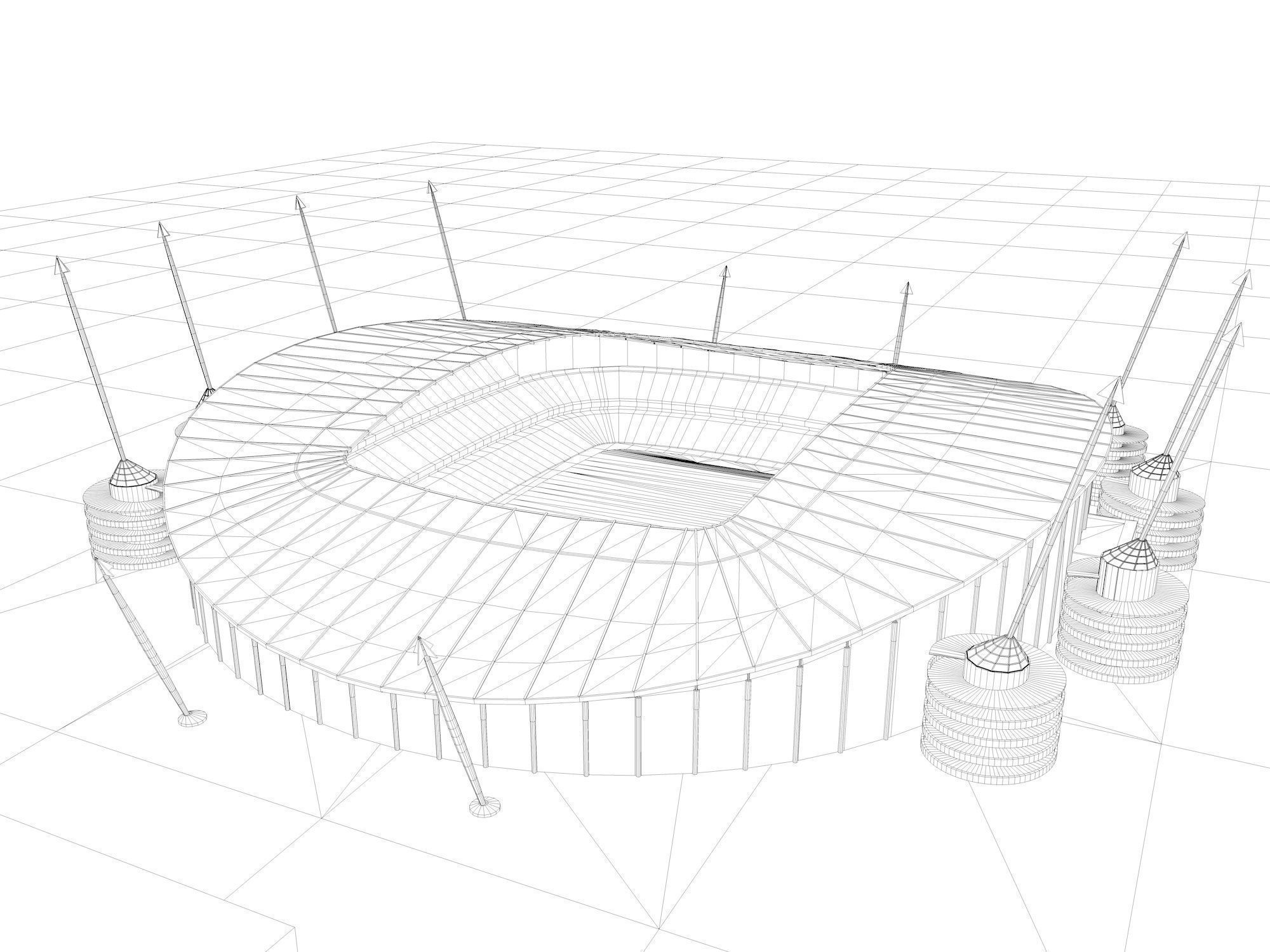 stadium drawing