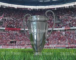 champions league cup 3d