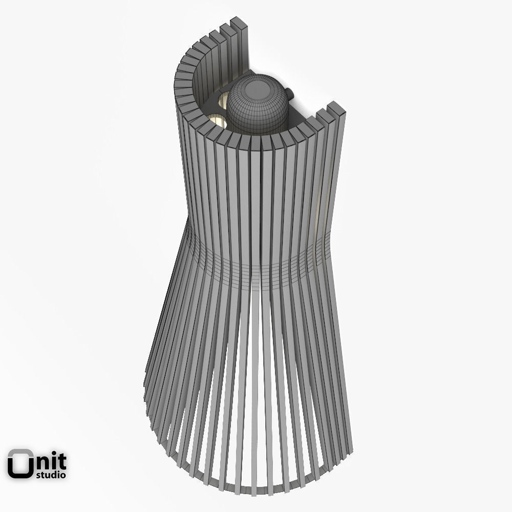 Secto 4230 Wall Light By Secto 3D Model MAX OBJ 3DS FBX
