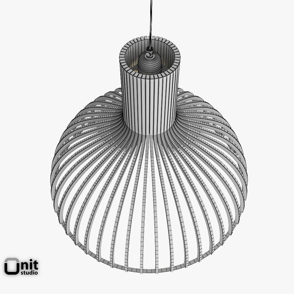 Victo 4250 Pendant Light By Secto 3D Model .max .obj .3ds