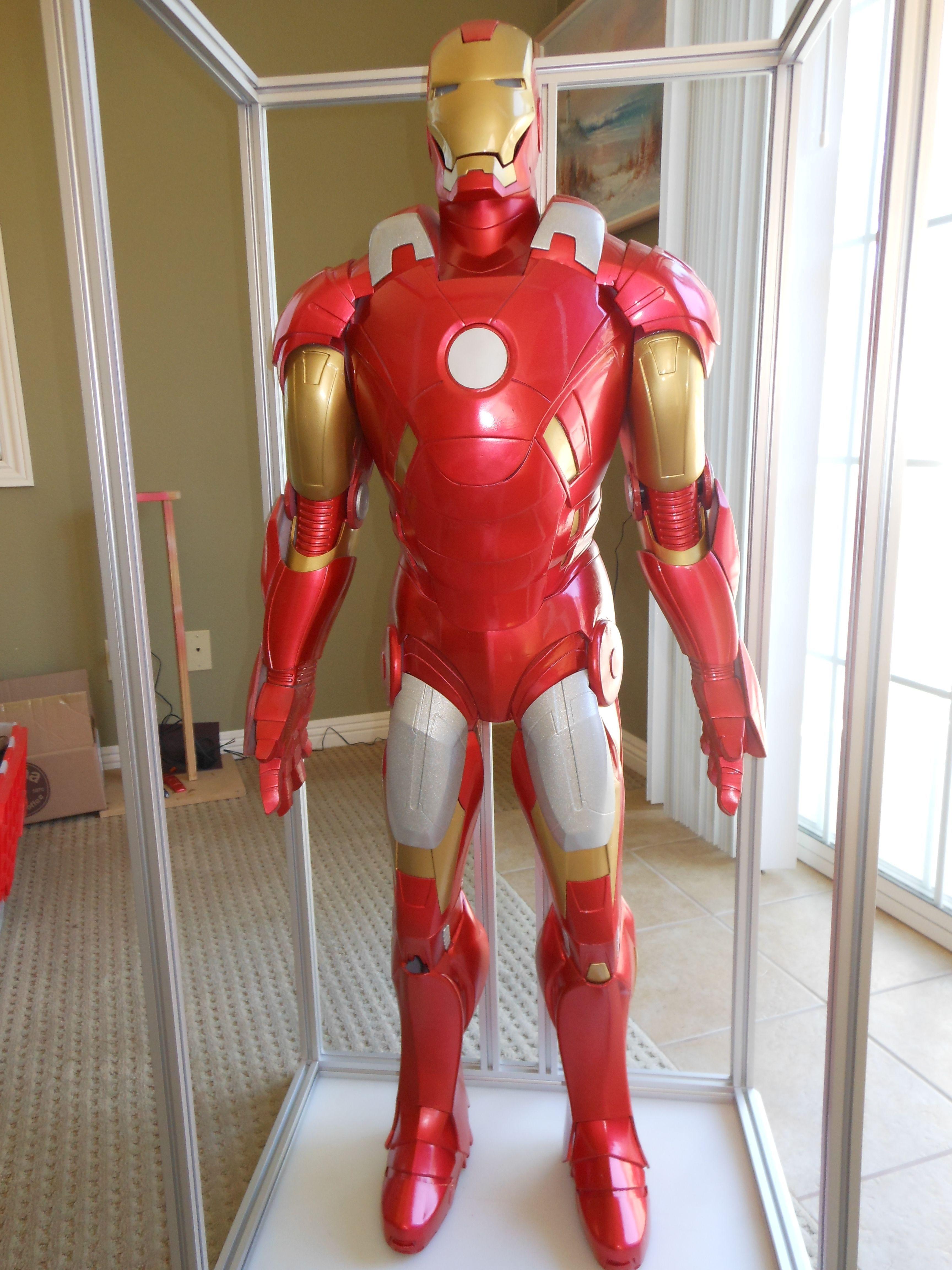 3d Printed Car Parts >> Iron man MK 7 STL 3D Model 3D printable STL - CGTrader.com
