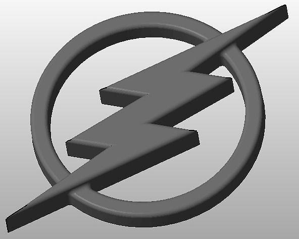 The Flash Logo 3D printable model   CGTrader