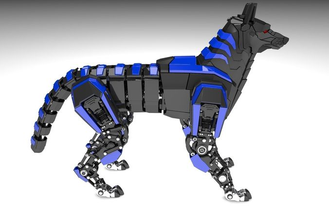 Robot Dog3D model