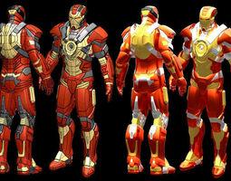 iron man mk17 stl 3d print model