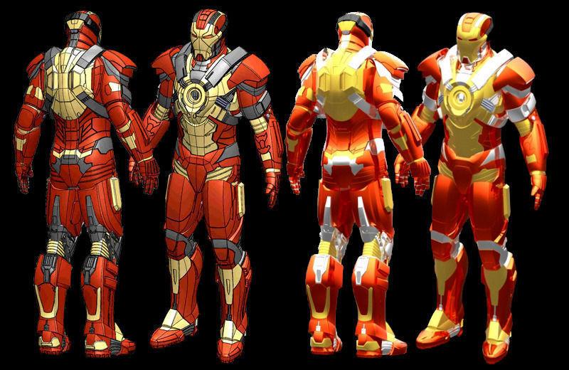Iron Man MK17 STL