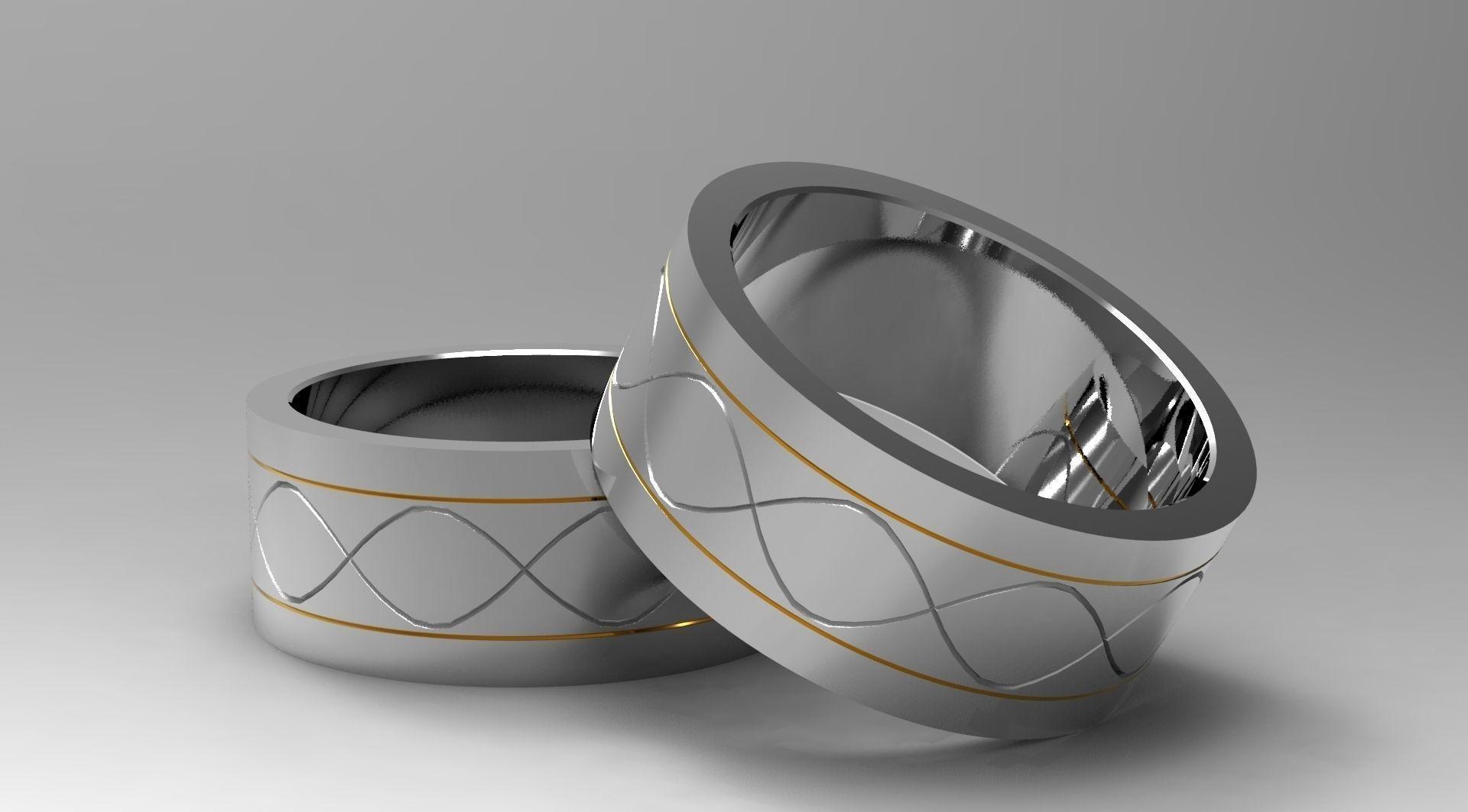 Simple Ring Design 3D print model | CGTrader