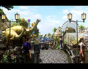 3D model Amusement Park 07