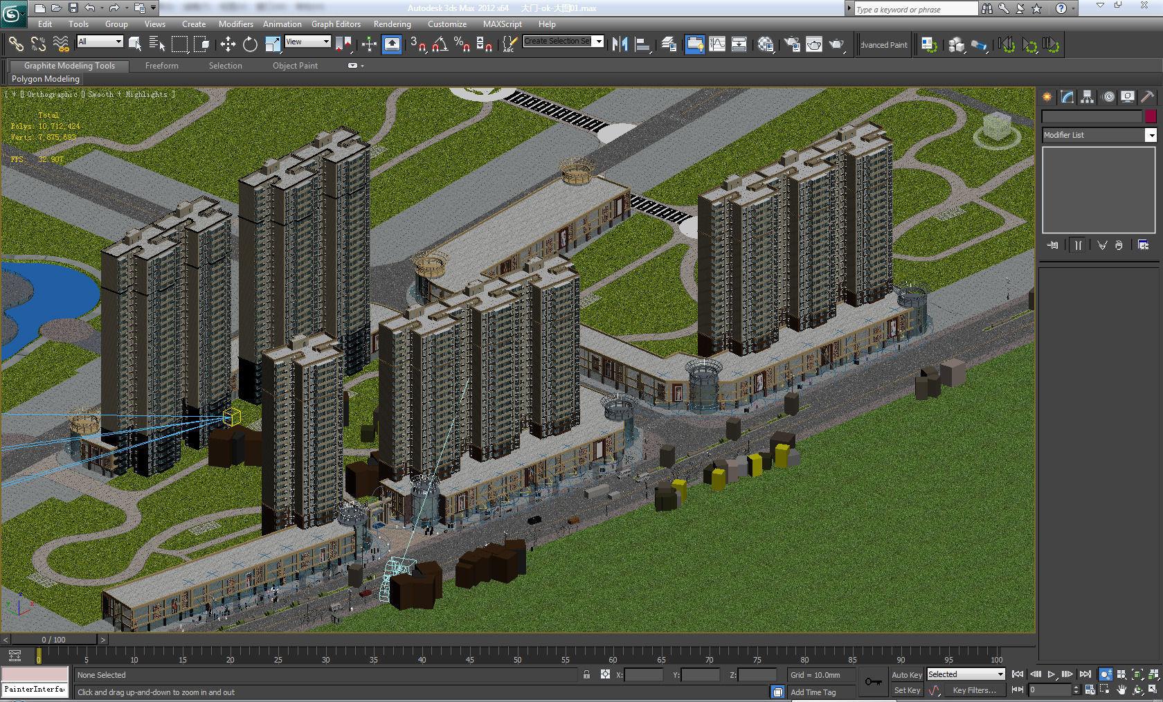 3d building 3d model 3d model max for 3d max building