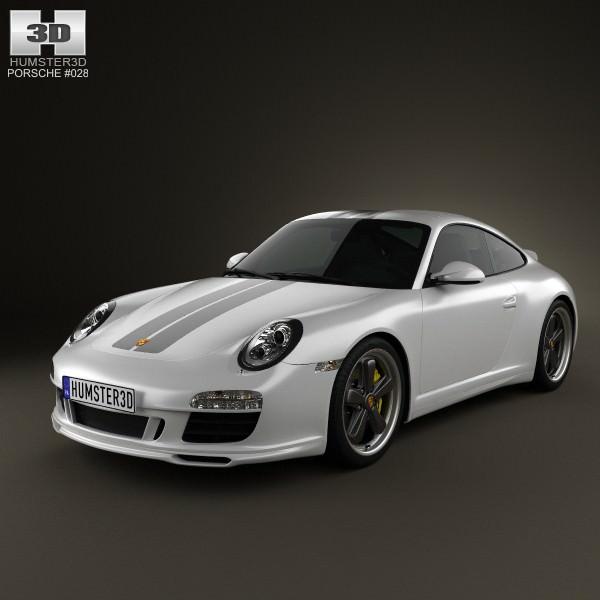 3D Model Porsche 911 Sport Classic 2011