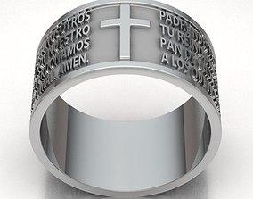 3D print model rings Ring Man