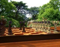 Batik Chess 3D print model