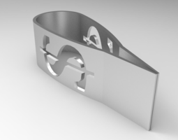 Dollar Money Clip 3D print model