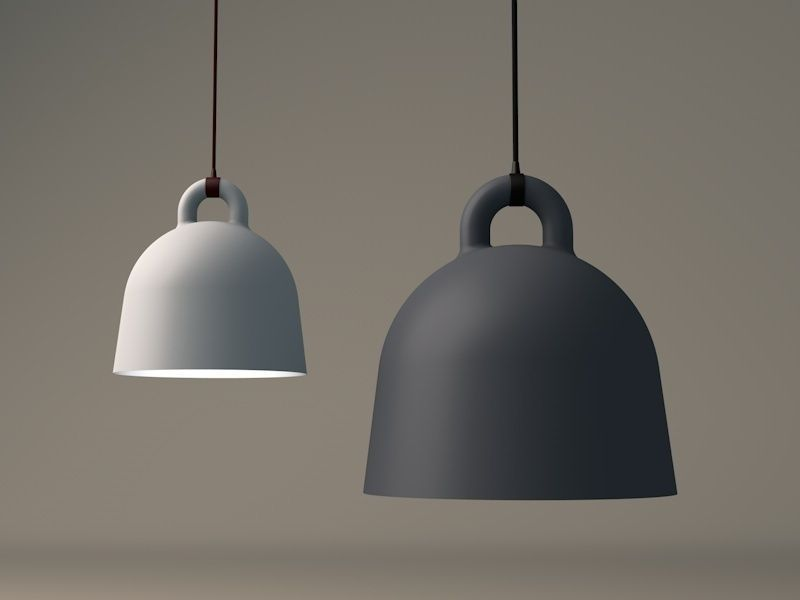 bell lamp by normann copenhagen 3d model c4d. Black Bedroom Furniture Sets. Home Design Ideas