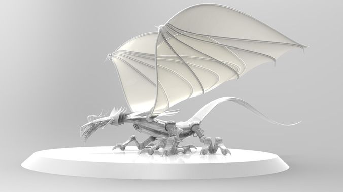 Dragon3D model