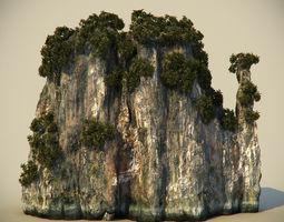 Thailand Rock 5 3D Model