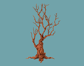 3D model Tree cartoon