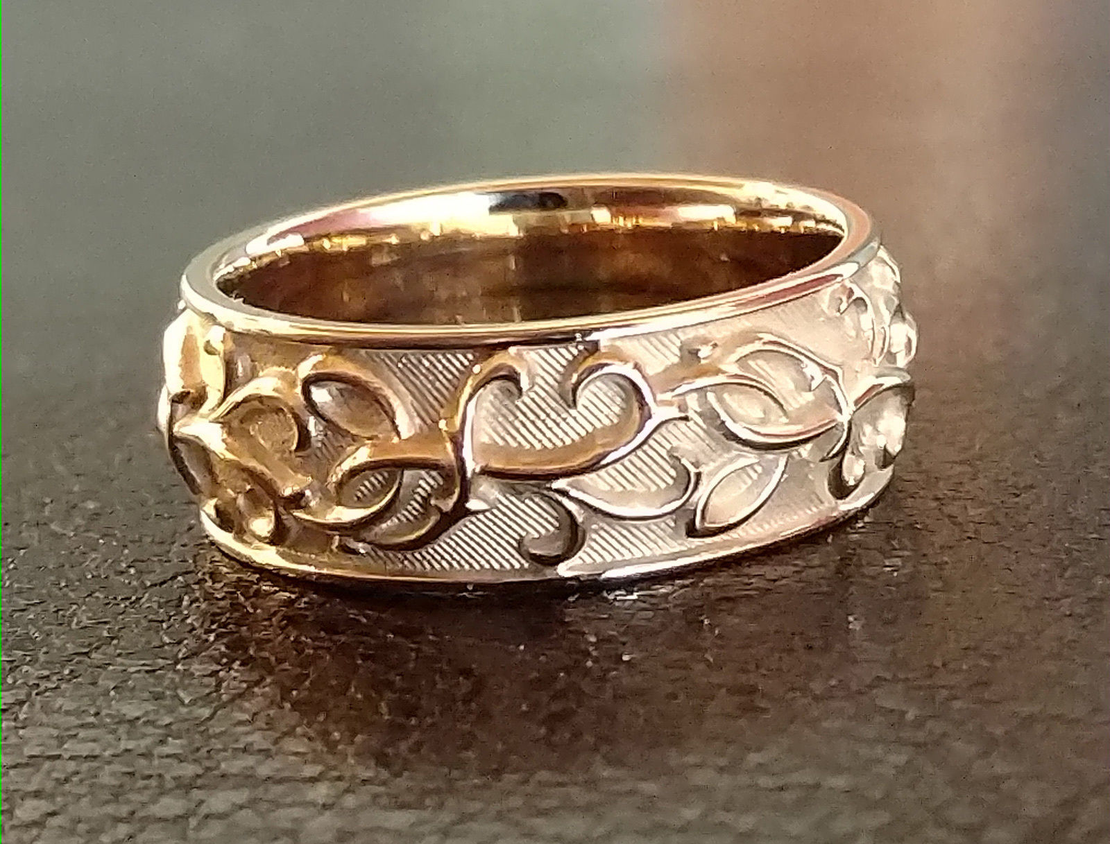 caroline ring woodland product leaf unisex silver brook handmade rings carolinebrook original by
