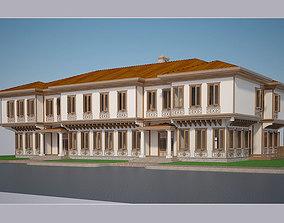 3D model Modern Turkish House 001 exterior