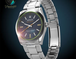 Rolex Milgauss 3D Model
