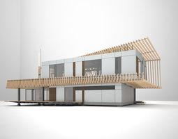 3d k3 house animated