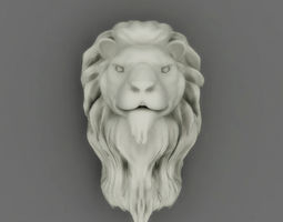 3D printable model Lion Head
