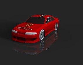 VR / AR ready Nissan Silvia s14 3d model