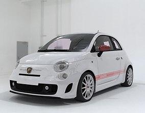 3D model Fiat 500 Abarth SS Esseesse sport coupe car