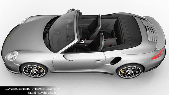 porsche 911 2015 interior. 911 turbo s cabriolet 2015 interior 3d model max obj 7 porsche