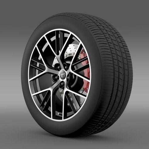 Toyota GT 86 concept wheel3D model