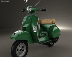 Piaggio Vespa PX 125 2012 3D Model