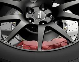 3D model TRD Toyota GT 86 wheel