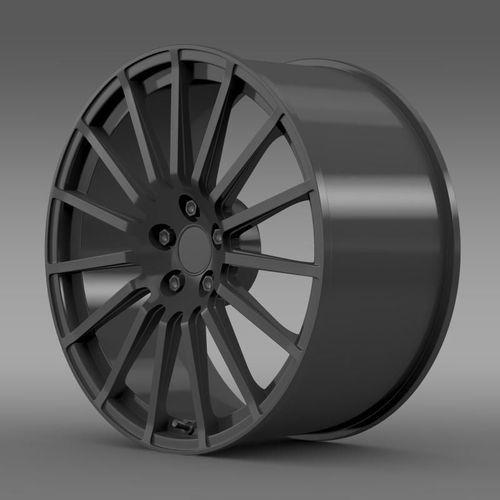 Subaru BRZ STI rim 3D Model .max .obj .3ds .fbx .c4d .lwo ...