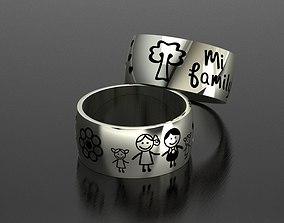 Ring Family 3D printable model