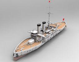 Mesudiye Battleship 3D Model