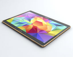 Samsung Galaxy Tab S 10 5 inch 3D Model