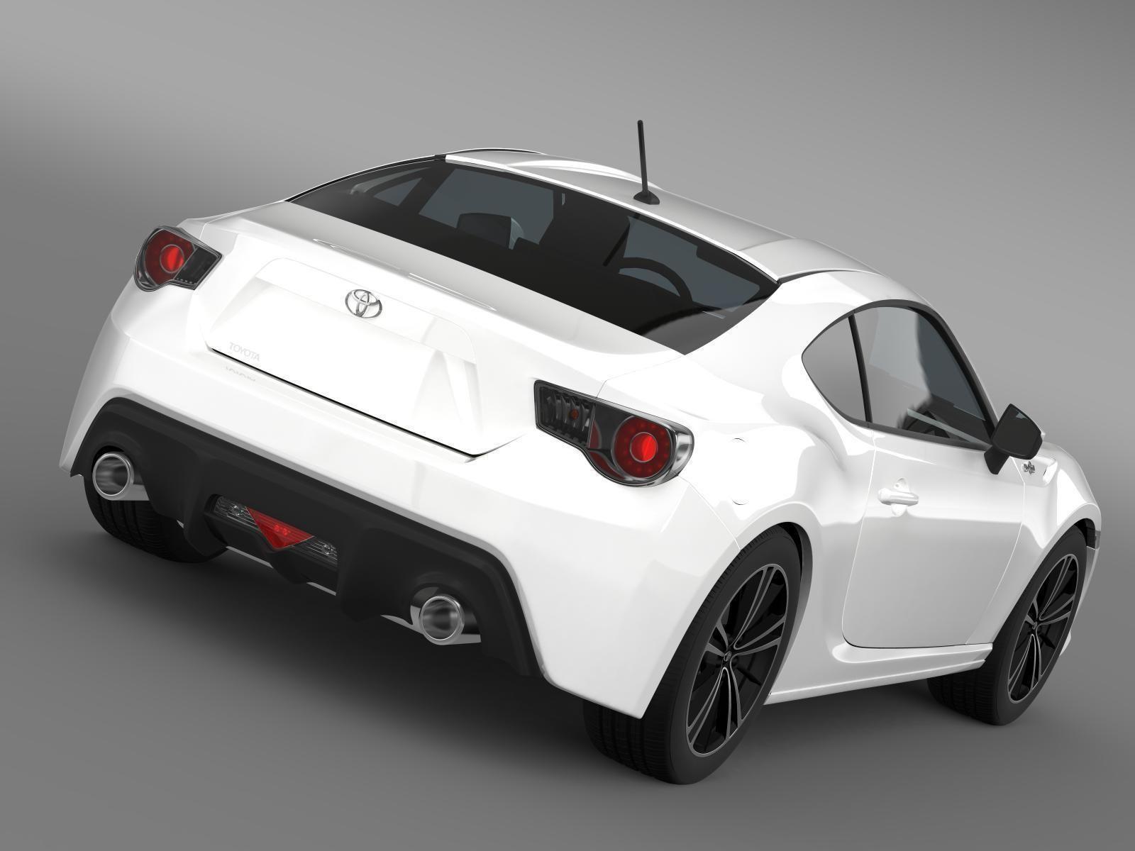 Nice ... Toyota Gt 86 2012 3d Model Max Obj 3ds Fbx C4d Lwo Lw Lws 5 ...