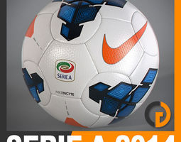 2013 2014 Lega Calcio Serie A Tim Match Ball 3D Model