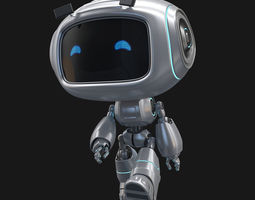 Toy Droid Rigged 3D