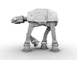 3D printable model AT-AT Star Wars