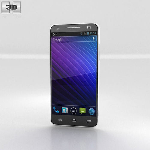 zte grand s 3d model max obj 3ds fbx c4d lwo lw lws 1