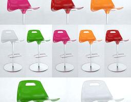 Alivar Kiron stool 3D Model