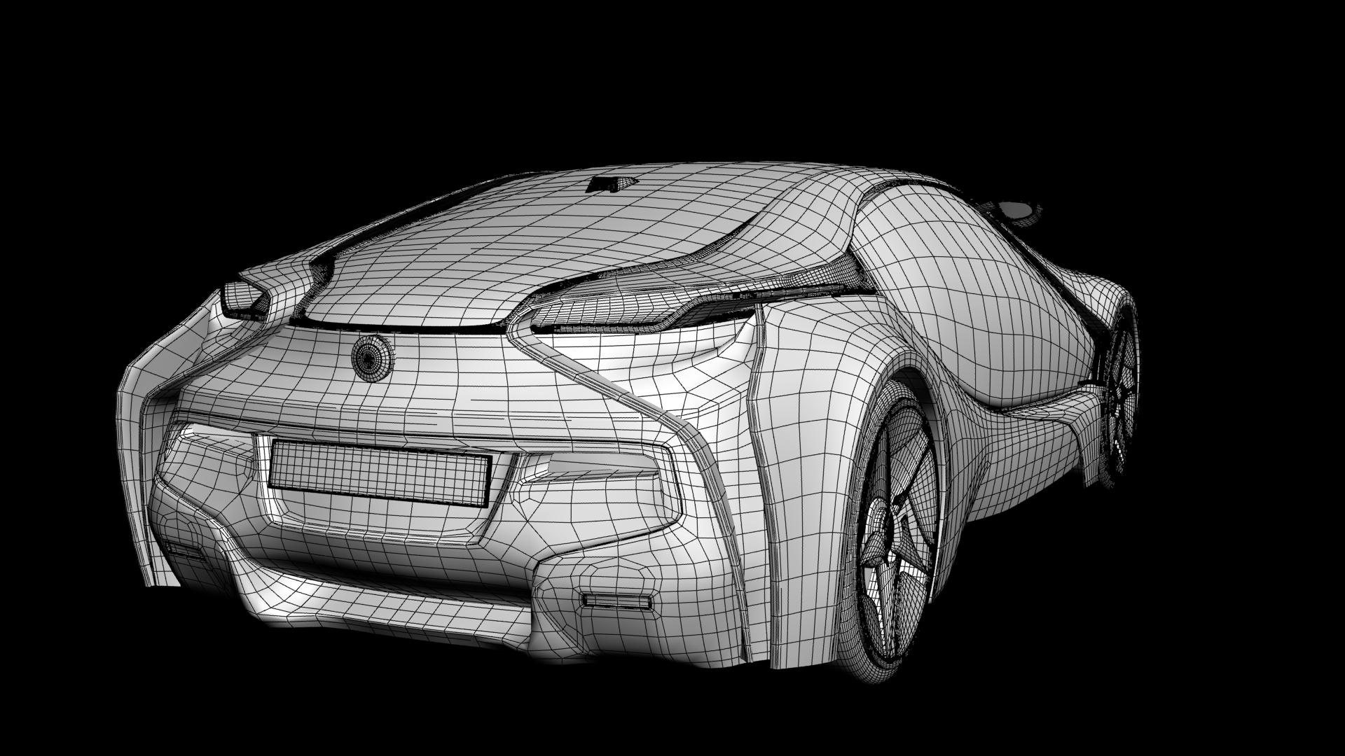 Bmw Efficientdynamics 3d Model Max Obj Cgtrader Com