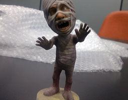 funny 3D printable model Mummy